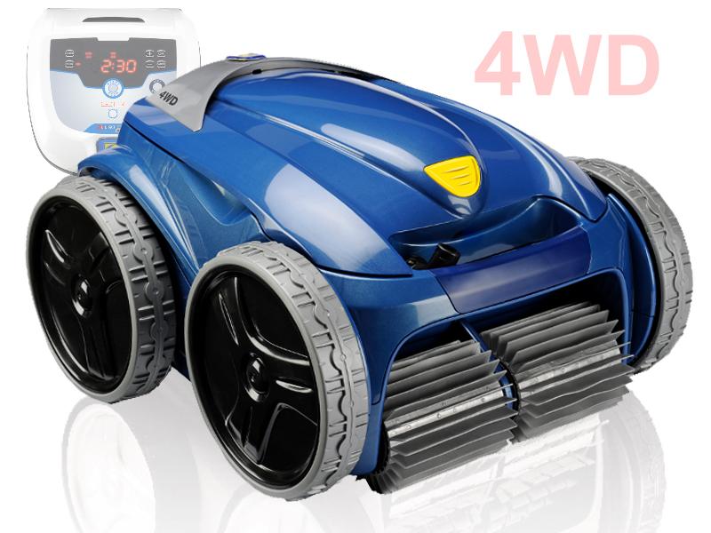 Robot lectrique zodiac vortex 4 4wd for Aspirateur piscine zodiac vortex 3 4wd